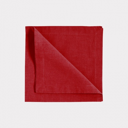 Robert Napkin 4-Pack - Red