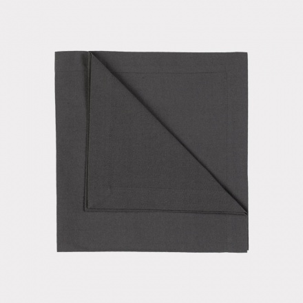 Robert Napkin 4-Pack - Dark Charcoal Grey