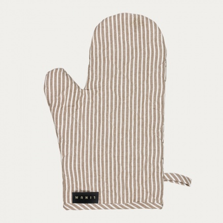 Emma Oven Mitt - Dark Mole Brown