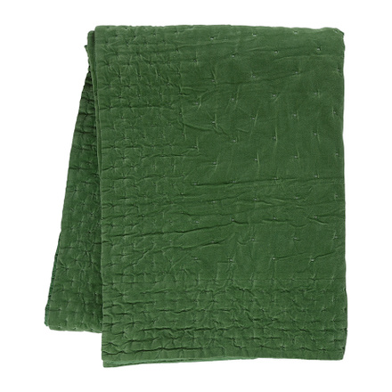 Paolo Bedspread - Meadow Green