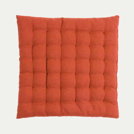 Pepper Seat Cushion - Rusty Orange