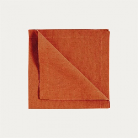 Robert Napkin 4 pack - Rusty Orange