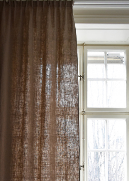 West pleat band - Linen Beige