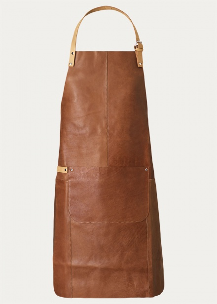 fuego-apron-brown