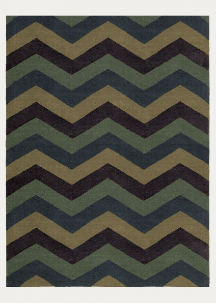 Burton Rug - Dark Grey Blue
