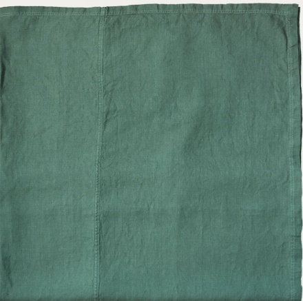West Tablecloth - Dark Grey Turquoise