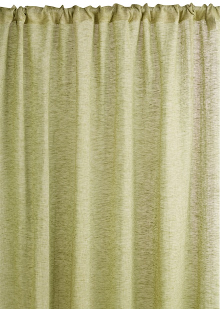 Intermezzo Curtain - Khaki Green