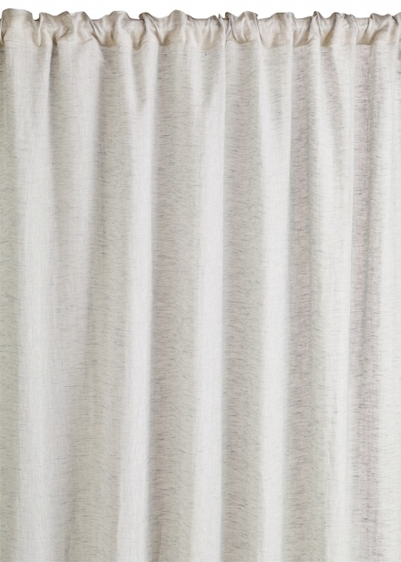 Intermezzo Curtain - Light Stone Grey