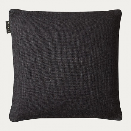 Raw Cushion cover - Black