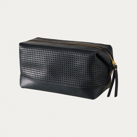 Capra Toiletry Bag - Black