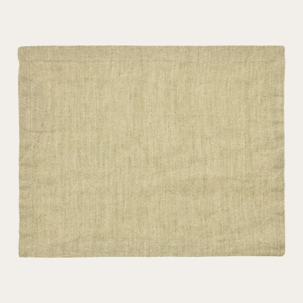 Hedvig Placemat - Light Cypress Green