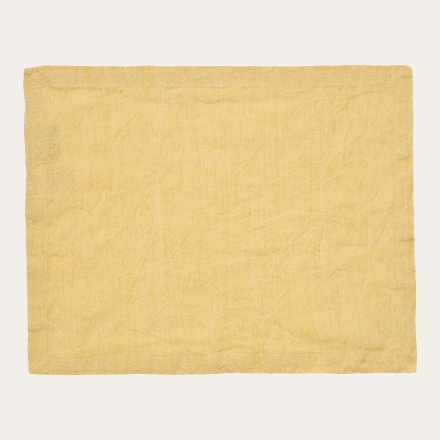 hedvig-placemat-mustard-yellow
