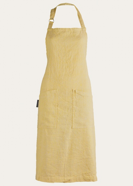 hedvig-apron-mustard-yellow