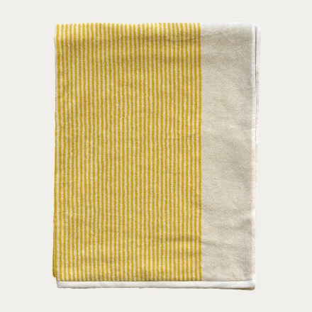 Venezia Beach Towel - Misted Yellow
