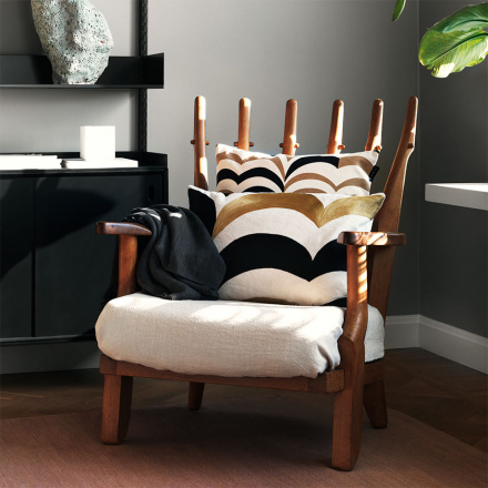 Arezzo Cushion Cover - Camel Brown