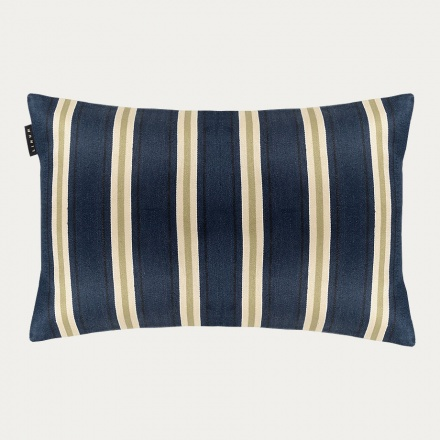 Lucca Cushion Cover - Dark Grey Blue
