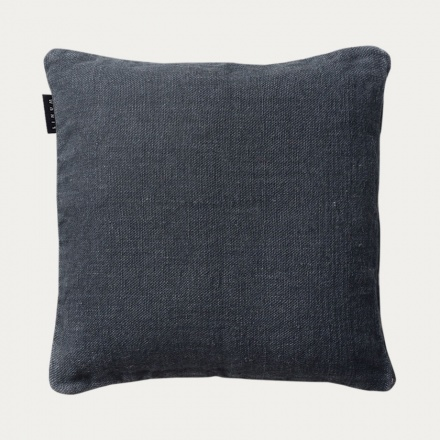 Raw Cushion cover - Dark Charcoal Grey