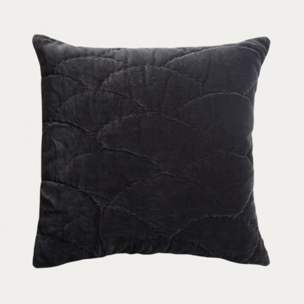 Siena Cushion Cover - Dark Charcoal Grey