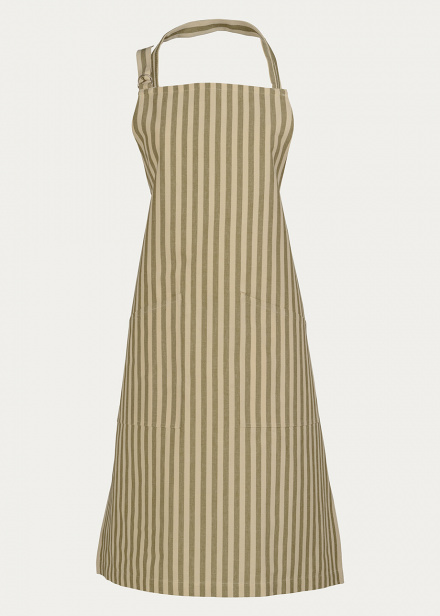 slussen-apron-golden-olive-green