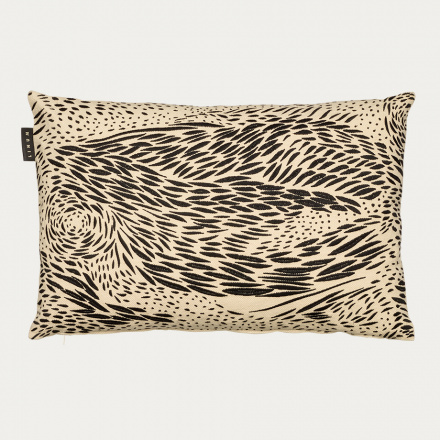 STROMBOLI CUSHION COVER - Black