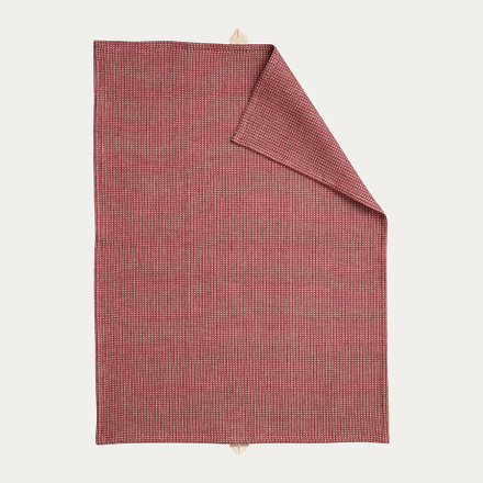 Agnes Tea towel - Dark red