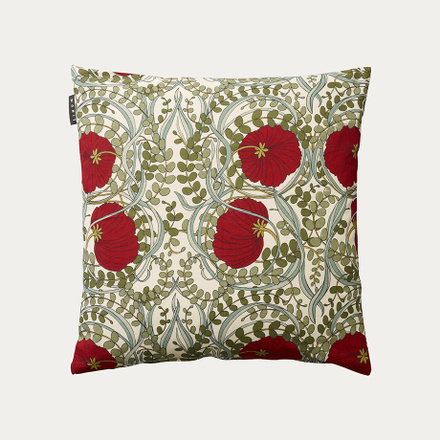 Nouveau Cushion cover - Dark red