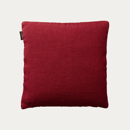 RAW CUSHION COVER - DARK RED